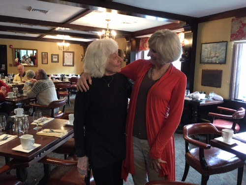 With Marjorie