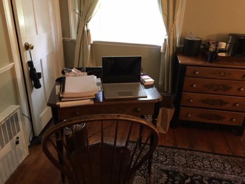 My desk in Concord